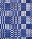 Transylvania traditional rug done manually Royalty Free Stock Photo