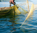Trap fishing Stock Photography