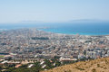 Trapani the city between two seas mediterranean and tyrrhenian Royalty Free Stock Photo