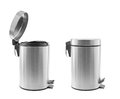Trash cans isolated Stock Images