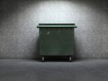 Trash container Royalty Free Stock Image
