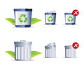 Trash Icon Royalty Free Stock Photos