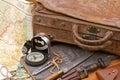 Cestovať a dobrodružstvo kufor