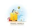 Travel bag and holiday