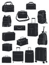 Travel bags Royalty Free Stock Photos