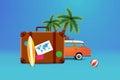 Travel in the caravan around the World