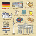 Travel concept of Germany