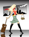 Travel Girl Royalty Free Stock Image