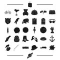 Travel, holiday, food and other web icon in black style. animal, advertisement, ritual icons in set collection.