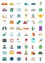 60 Travel & Hospitality Icons Set