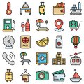 Travel and Hotel Isolated Vector icon which can easily modify or edit Royalty Free Stock Photo