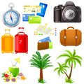 Travel icon easy to edit vector illustration of set Stock Photo
