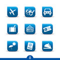 Travel icons 8..smooth series Royalty Free Stock Photo