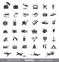 Travel icons image for design Royalty Free Stock Photo