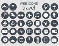 Travel icons vector illustration this is file of eps format Stock Photography