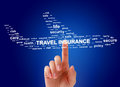 stock image of  Travel insurance concept.