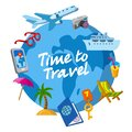Travel and journey icon