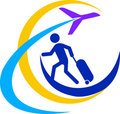 Travel logo Stock Photography