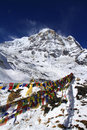 Travel Nepal: Annapurna South Royalty Free Stock Image