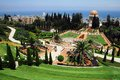 Travel Photos of Israel - Bahai Shrines in Haifa Royalty Free Stock Images