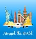 Travel poster. Explore world.