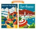 Travel Poster Vectors Illustra...
