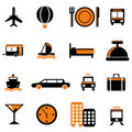 Travel service icon Stock Photography