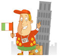 Travel to italy abe the tourist Stock Photos