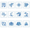 Travel and Vacation icon I Royalty Free Stock Photography