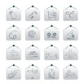Travel vacation icons vector icon set Royalty Free Stock Image