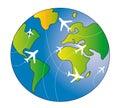 Travel world Royalty Free Stock Photo