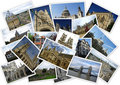 Traveling around England Royalty Free Stock Photos