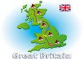 Traveling in Great Britain Royalty Free Stock Photos