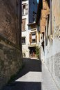 Travelling in asolo italy among the ruined walls and streets of town the veneto region province of treviso Stock Photo