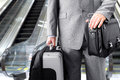 Travelling Businessman Royalty Free Stock Photography