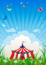 Travelling circus Royalty Free Stock Photography