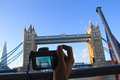 Travelling in london photography taking photographs england Royalty Free Stock Photo