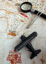 Travels for adventure journey concept Royalty Free Stock Photos