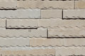 Travertine stone wall Royalty Free Stock Photo