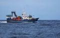 Trawl fishing sea fish vessel fisheries Royalty Free Stock Photos