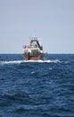 Trawl fishing sea fish vessel fisheries Stock Photo