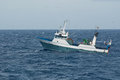 Trawl fishing sea fish vessel fisheries Stock Photography