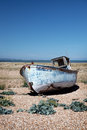 Trawler fishing boat wreck derelict Stock Photo