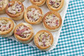 Tray vol-au-vent Royalty Free Stock Images