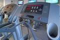 Treadmill μηχανών γυμναστικής άσκησης Στοκ φωτογραφία με δικαίωμα ελεύθερης χρήσης