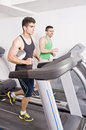 Treadmill Foto de Stock Royalty Free