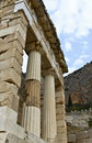 Treasure of the Athenians at Delphi oracle Stock Photo
