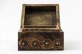 Treasure chest isolated Royalty Free Stock Photo