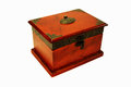 Treasure chest old for coins and other value things Stock Images