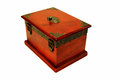 Treasure chest old for coins and other value things Stock Photos